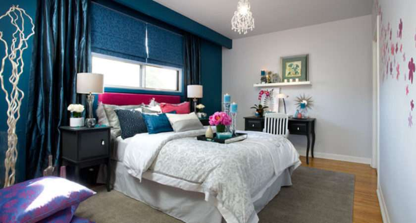 Bedroom Decorating Ideas Brown Blue
