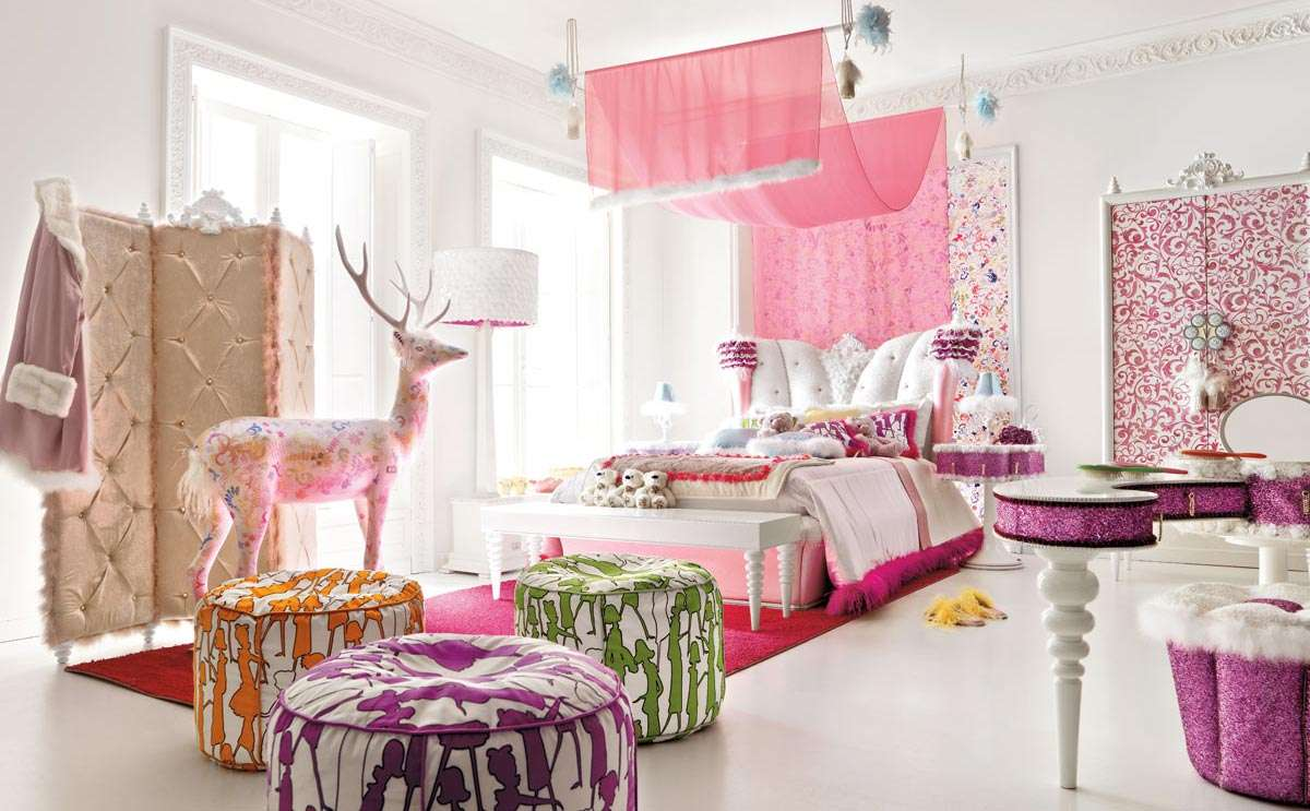 Bedroom Decorating Ideas Young Adults Girls Room