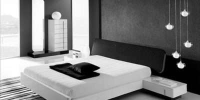 Bedroom Design Ideas Contemporary Black White