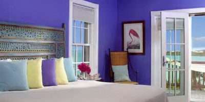 Bedroom Good Blue Color Paint