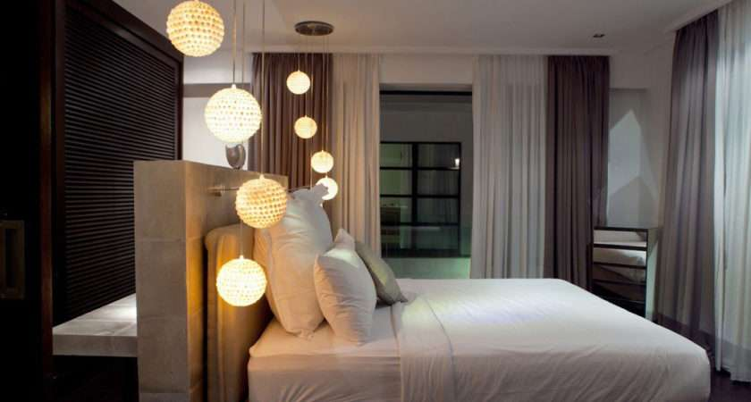 Bedroom Hanging Lights Casa Hannah Bali Indonesia Design