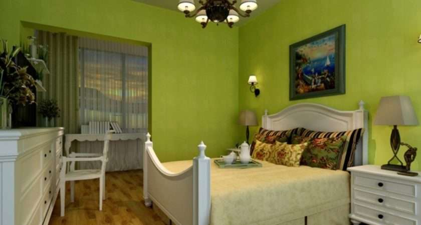 Bedroom Lime Green Accessories Colors Match