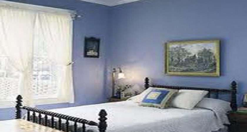 Bedroom Painting Blue Shades