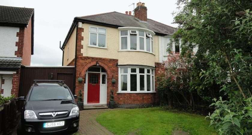 Bedroom Semi Detached House Sale Loughborough Road Rothley