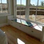 Bedroom Window Bench Outside Master