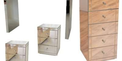 Bedside Tables Small White