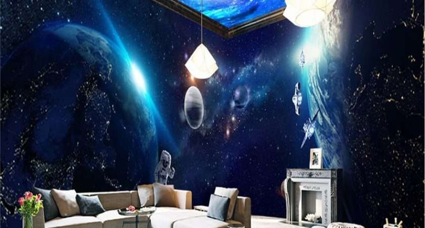 Beibehang Space Planet Whole House Mural