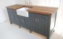 Belfast Sink Unit Product Code Standing Painted