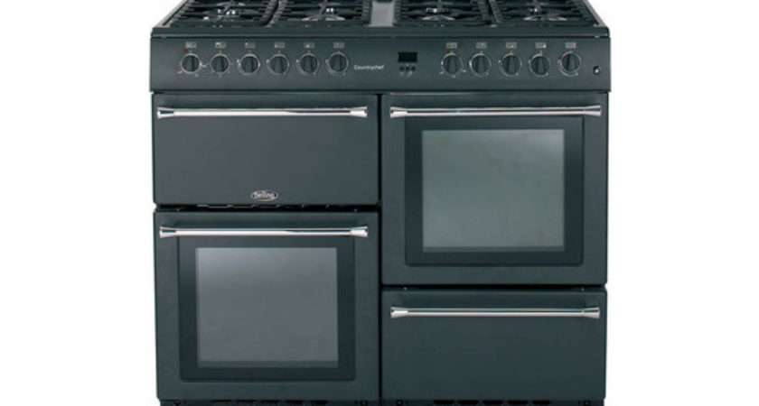 Belling Country Chef Gas Range Cooker Anthracite