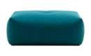 Bergen Footstool Petrol Teal Blue Furniture Ottoman Boconcept