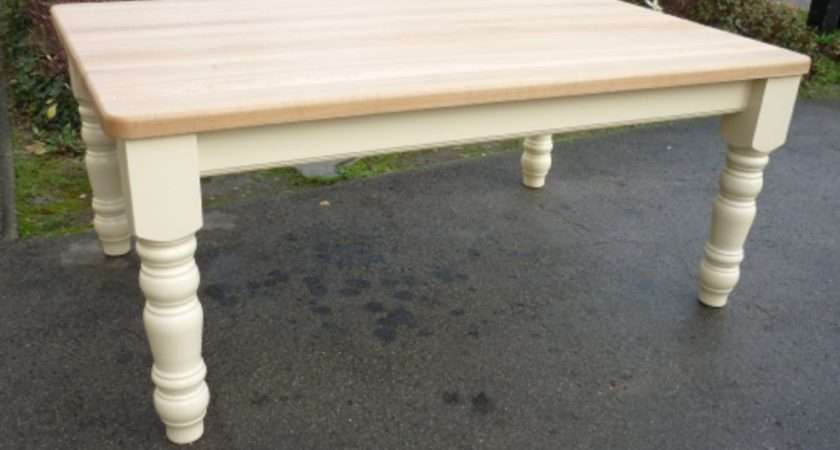 Bespoke Farmhouse Tables Kitchen Dining Room Furniture