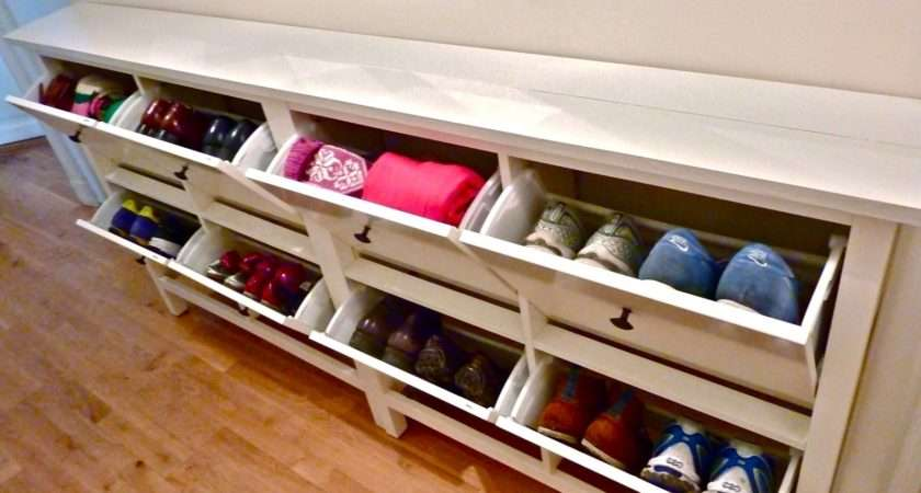 Bespoke Ikea Hemnes Shoe Cabinet Sofa Table
