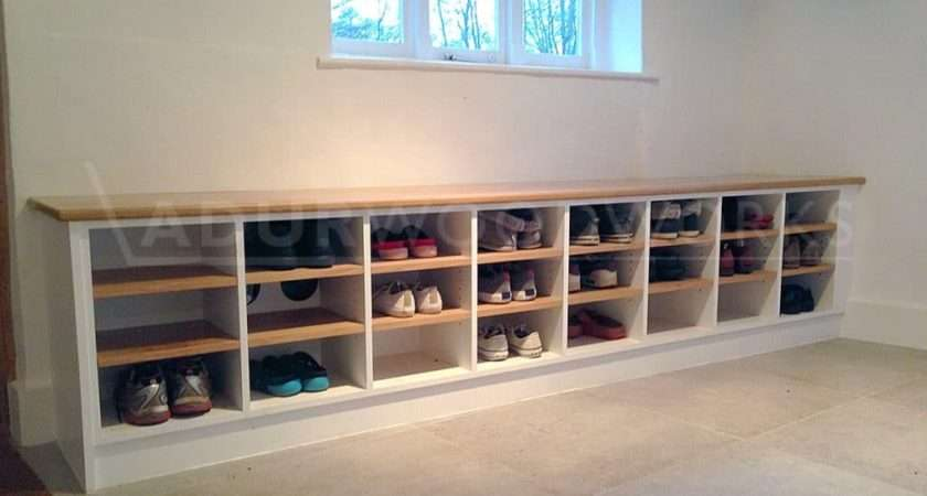 Bespoke Shoe Storage Adur Woodworks