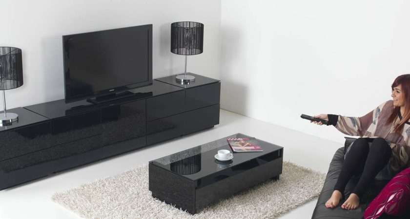 Best Black High Gloss Corner Unit
