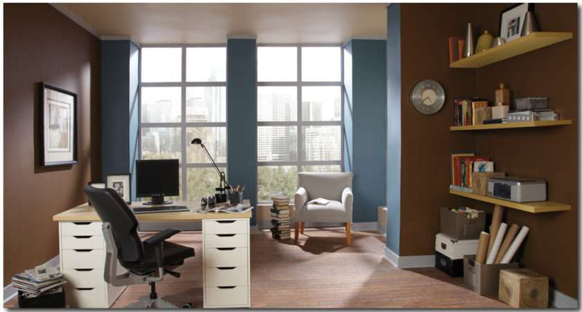 Best Blue Office Color Scheme Home Design