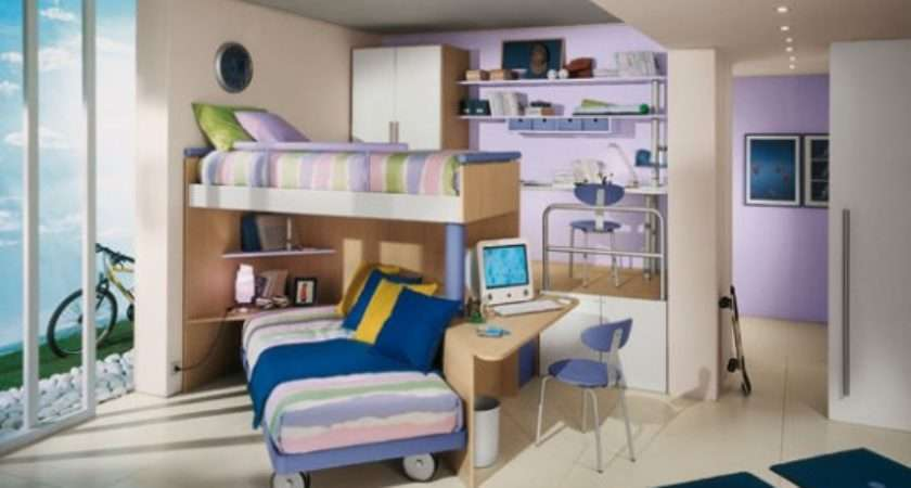 Best Bunk Beds Awesome Cool Kids Rooms Ideas