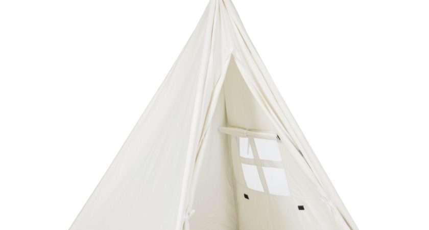 Best Choice Products White Teepee Tent Kids Playhouse