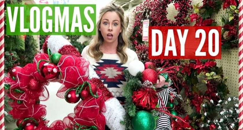 Best Christmas Decorations Ever Vlogmas Day Youtube