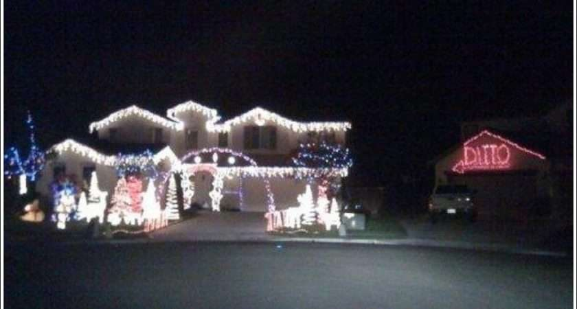Best Christmas Lights Decorations Ever Sanitaryum Clean Humor