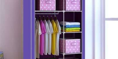 Best Collection Double Wardrobe Drawers Shelves
