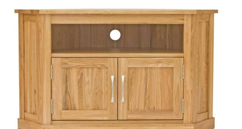 Best Collection Small Oak Corner Stands
