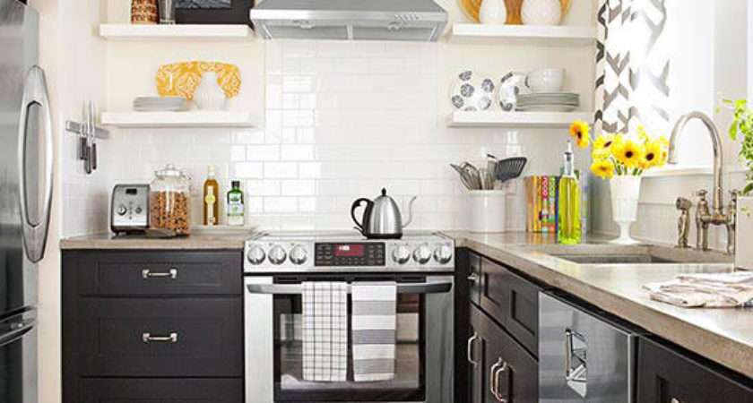 Best Colors Small Kitchens Better Homes Gardens