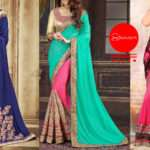 Best Colour Combinations Half Sarees