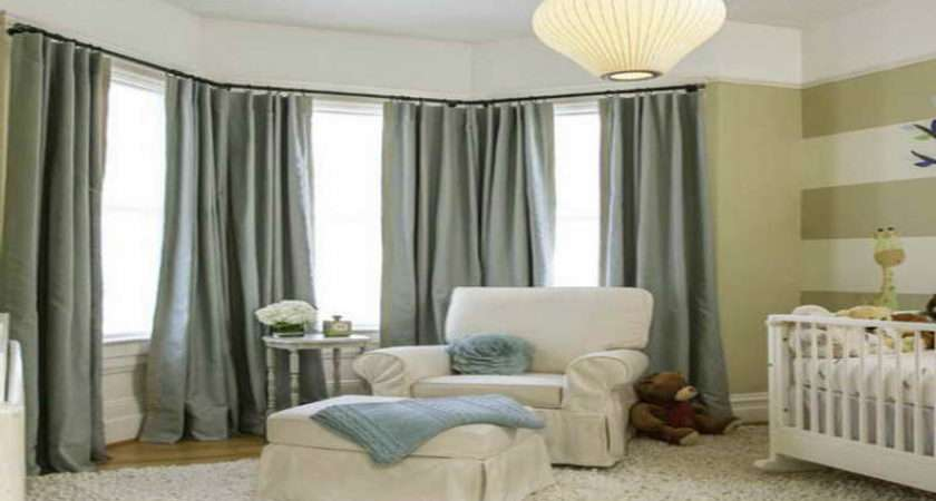 Best Curtains Bay Windows Bedroom