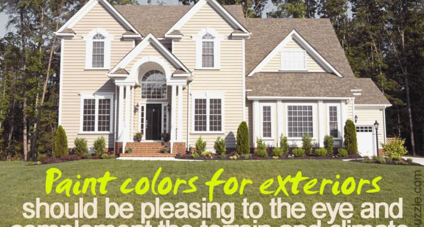 Best Exterior House Color Combinations Die
