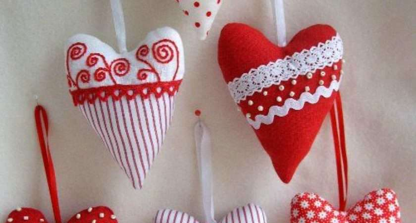 Best Fabric Hearts Ideas Pinterest Shabby Chic
