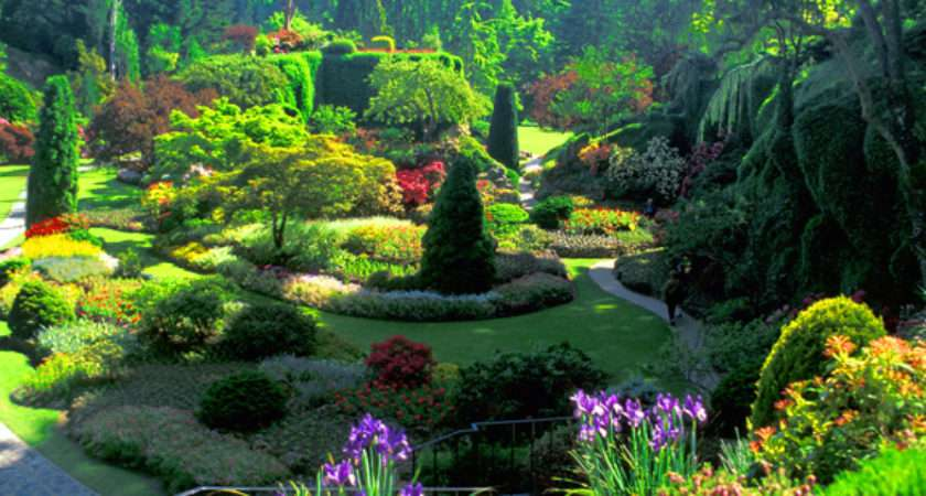 Best Garden Butchart Gardens British Colombia Incredible Dot