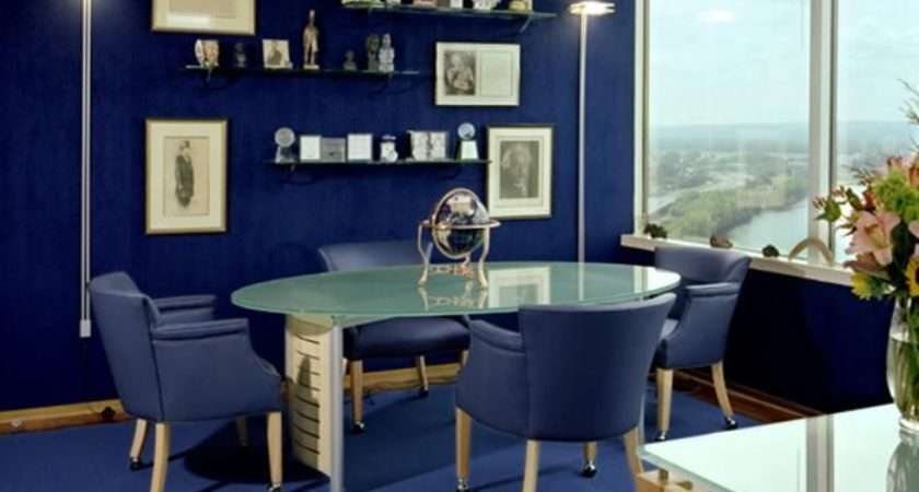 Best Home Office Colors Schemes Paint Ideas
