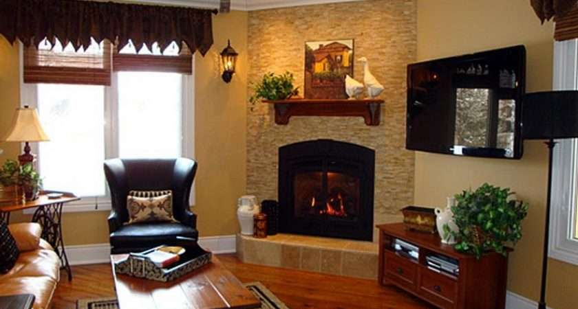 Best Interior Decorating Ideas Room Fireplace
