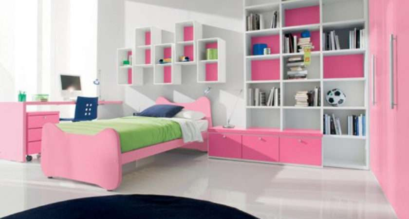 Best Modern Bedroom Girls Pink Bedrooms
