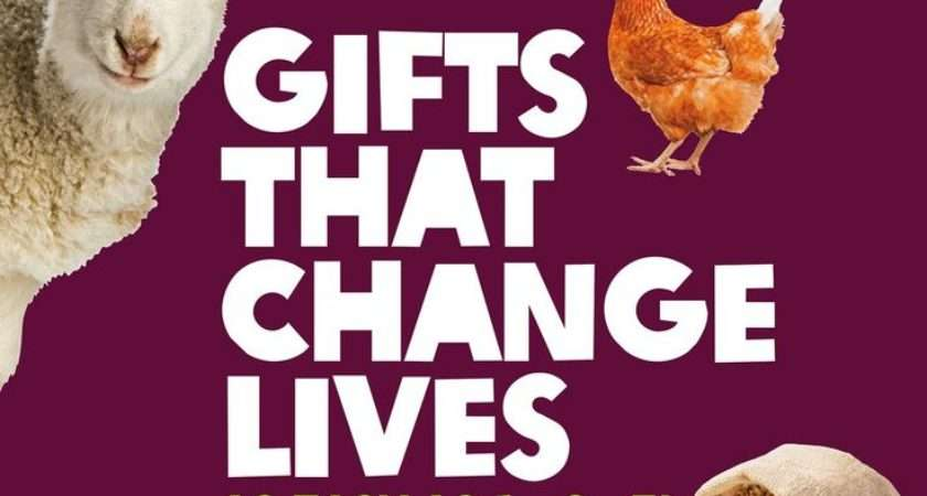 Best Oxfam Unwrapped Great Gifts Give Back