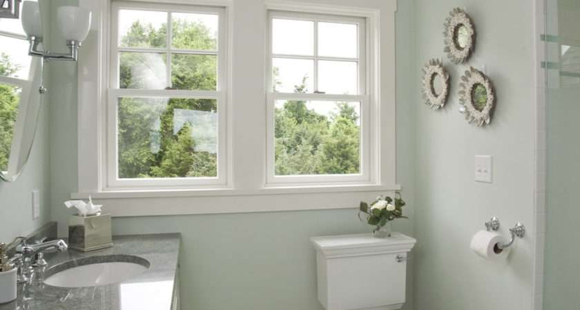 Best Paint Colors Small Bathrooms August Morning
