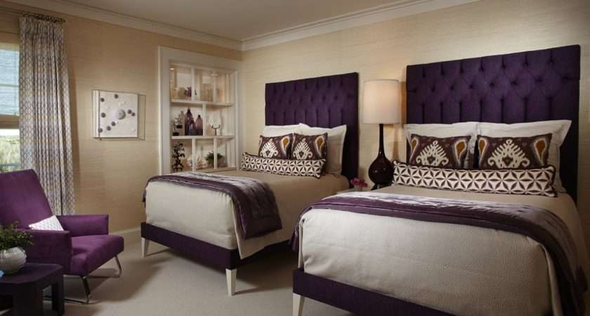 Best Tan Purple Bedroom Ideas