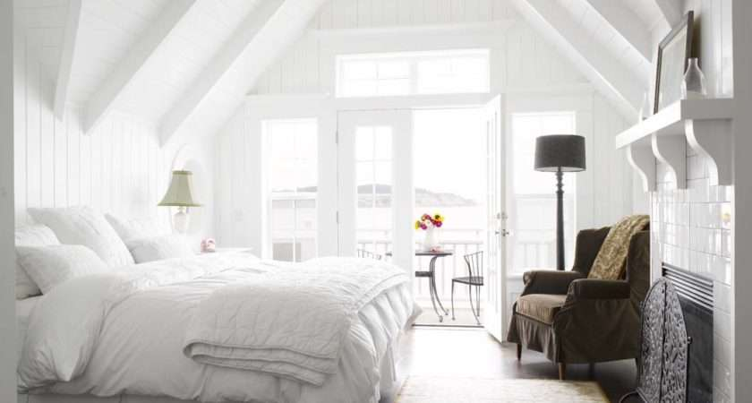 Best Thing Comes White Bedroom Interior