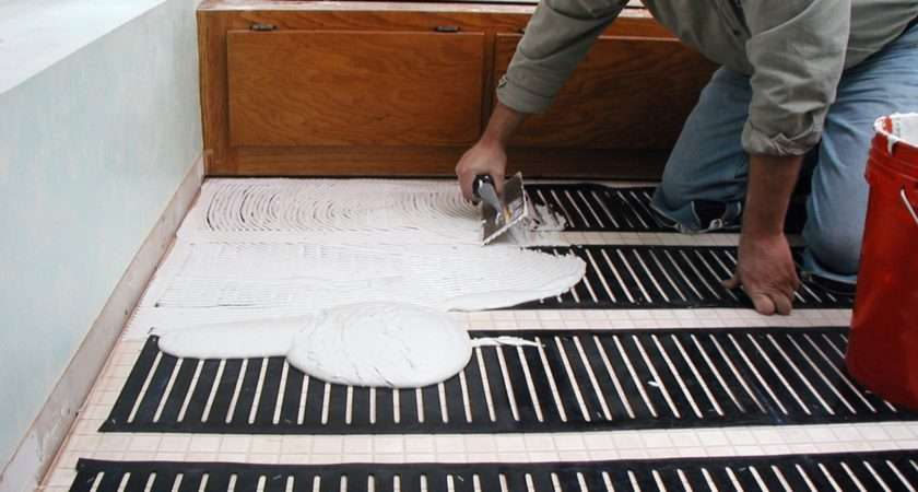Best Tile Floor Heating System Tiles Flooring