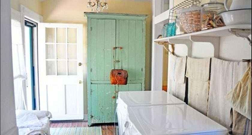 Best Vintage Laundry Room Ideas Bee Home Plan