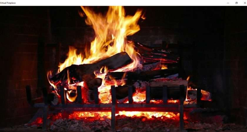 Best Virtual Fireplace Software Apps Perfect