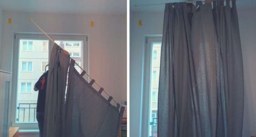 Best Way Hang Curtains Without Drilling Packmahome