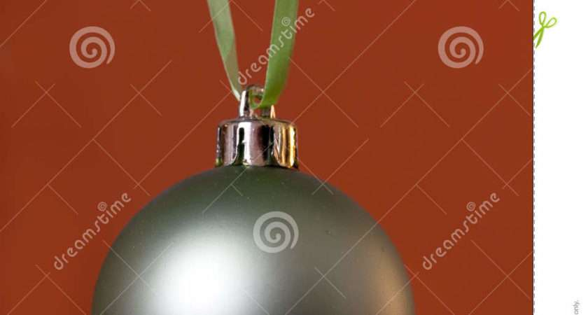 Big Christmas Baubles Fir Branches