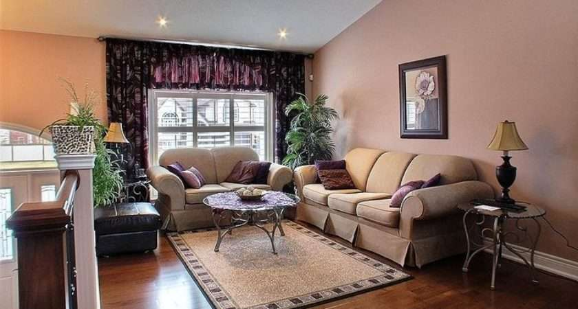 Bilevel Home Living Room Ideas Flooring Level Upper