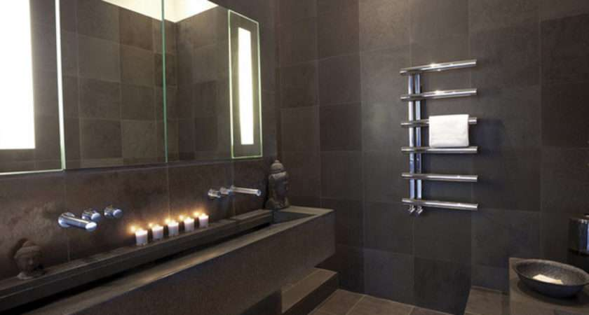 Bisque Radiators Contemporary Bathroom London