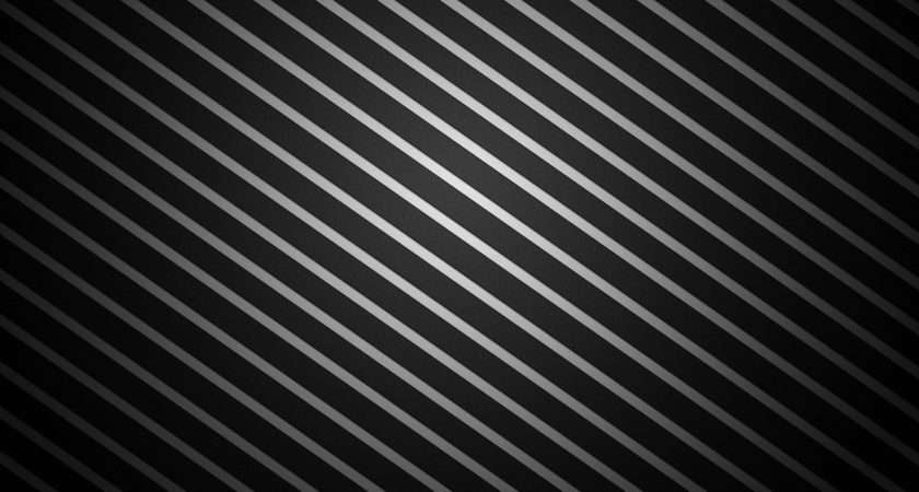 Black Abstract White Heart Stripes