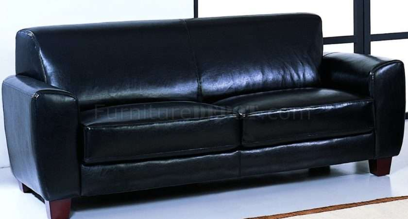 Black Bycast Leather Stylish Living Room Sofa Options Bhs Lucas