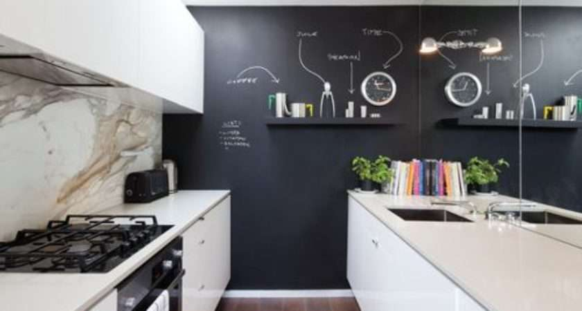 Black Feature Wall Houzz