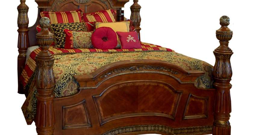 Black Four Poster King Bed Headboard Frompo
