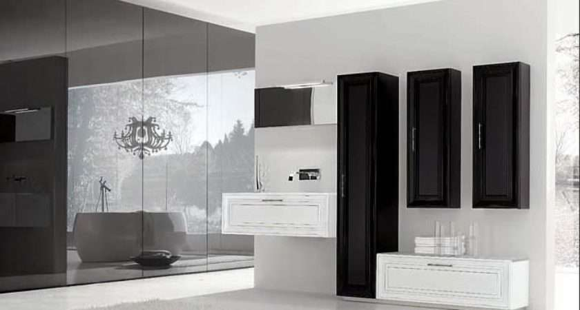 Black White Bathroom Decorating Ideas House Design